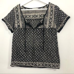 American Eagle Outfitters Peasant Top XS